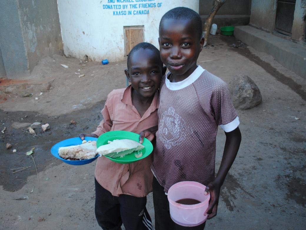 Children at KAASO